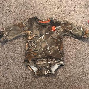 Baby boy Carhartt 6M body suit